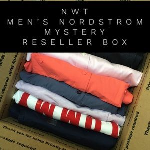 NWT Mystery Reseller Box Men's Clothing MSRP $380+